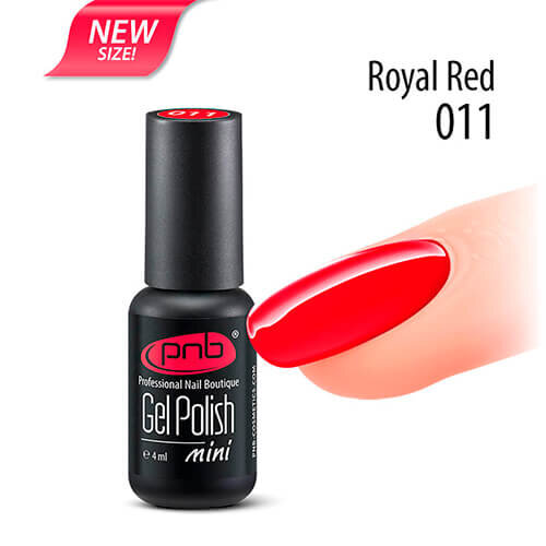Гель-лак PNB 011 Royal Red