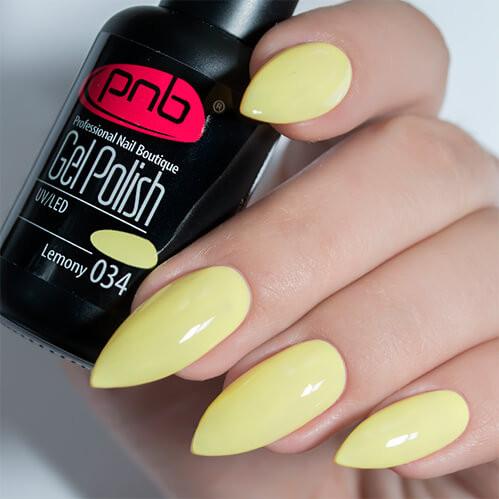 Гель-лак PNB 034 Lemony