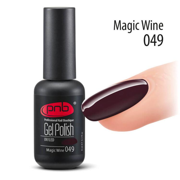 Гель-лак PNB 049 Magis Wine