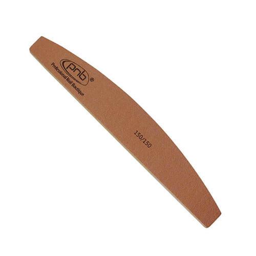 Пилка для ногтей PNB 150/150 Golden Brown, полукруг