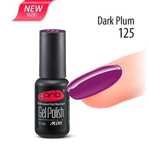 Гель-лак PNB 125 Dark Plum