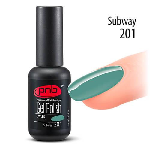 Гель-лак PNB Subway 201, 8 мл