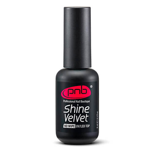 UV/LED Top Shine Velvet No wipe