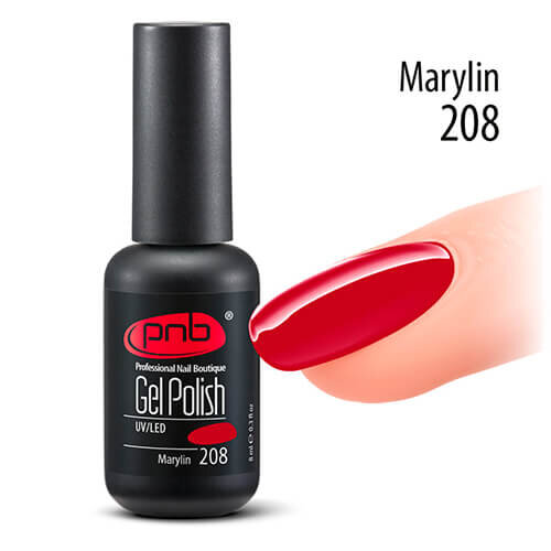 Гель-лак PNB Marylin 208, 8 ml
