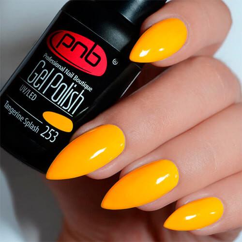 Гель-лак PNB Tangerine Splash 253