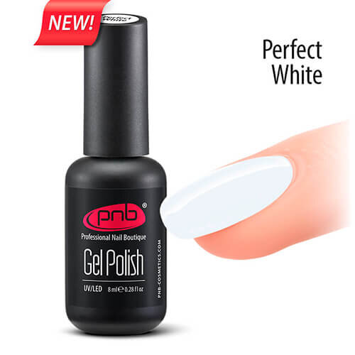 Гель-лак PNB Perfect White, 8 ml