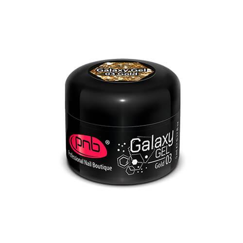 UV/LED Galaxy Gel 03 Gold