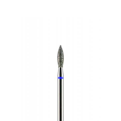 """Фреза алмазная """"Пламя"""", 2,5 мм, средний абразив"""