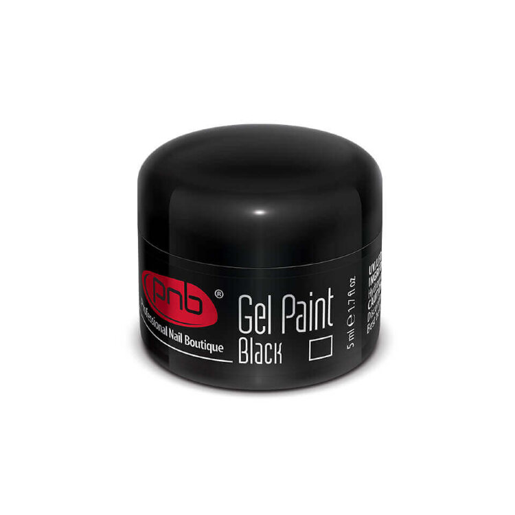 UV/LED Gel Paste PNB Star Way, 03 Black, 5 ml/ Гель паста PNB «Стар Вей», 03 Черный, 5 мл