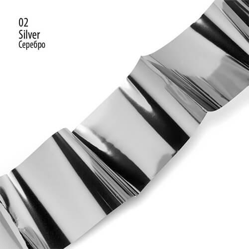 Фольга для литья PNB 02 Silver