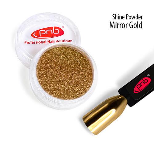 Зеркальная втирка PNB, золото