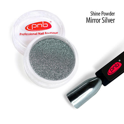 Зеркальная втирка PNB, серебро