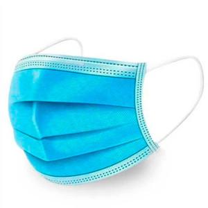 Санитарно-гигиеническая маска (голубая) 50шт