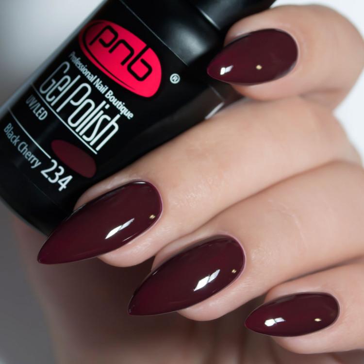 Гель-лак PNB 234 Black Cherry