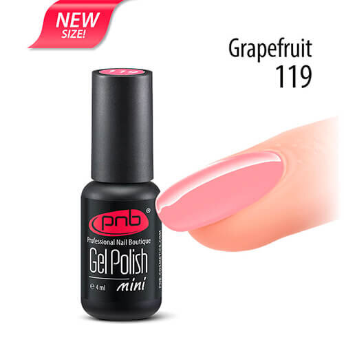 Гель-лак PNB 119 Grapefruit