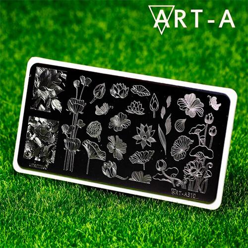 Пластина для стемпинга Art-A 310