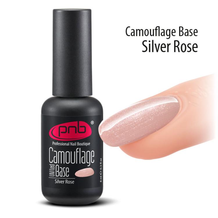 UV/LED Camouflage Base PNB, Silver Rose