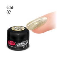 UV/LED Shimme rGel Paste PNB 02 Gold