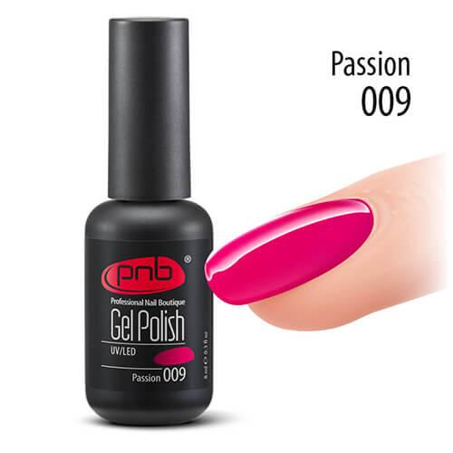 Гель-лак PNB 009 Passion